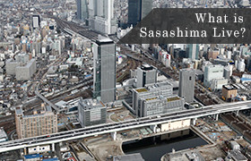 What is Sasashima Live?